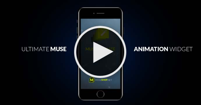 Adobe Muse Tutorial - Muse Basics - Animations in Muse