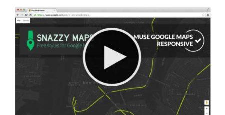 Adobe Muse Tutorial - Style your Muse maps