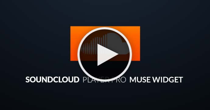 Adobe Muse Tutorial - Add SoundCloud player to Muse