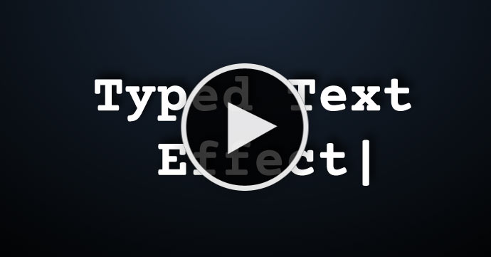 Adobe Muse Tutorial - Typed text effect for Adobe Muse