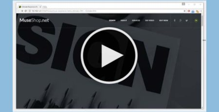 Adobe Muse Tutorial - Muse Basics - Creating a responsive menu in Muse