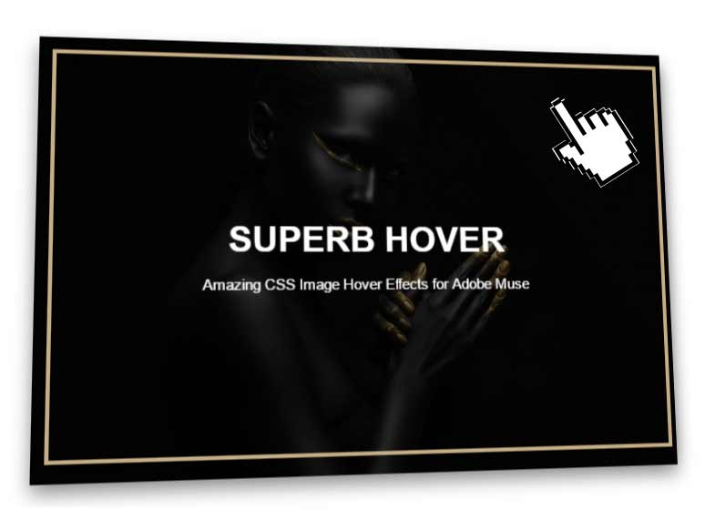 3D Parallax Image Hover Effect Muse Widget - Features