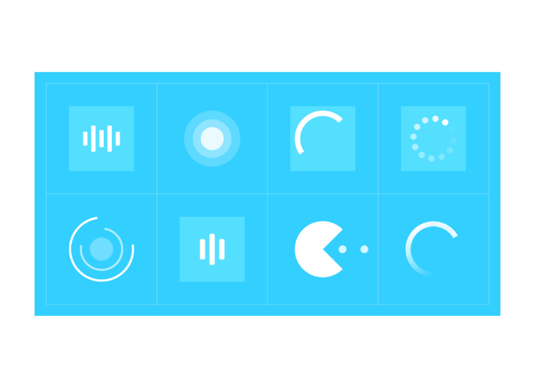 Animated Page Preloaders Muse Widget - Features 1