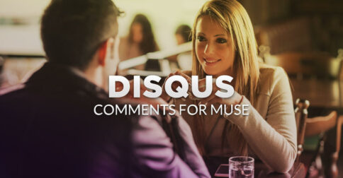 DISQUS Comments Muse Widget - Hero Image