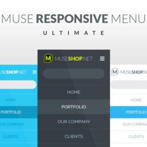 Ultimate Muse Responsive Menu Widget Featured Image