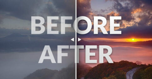 Before and After Image Effect Muse Widget - Featured Image