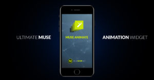 Muse Animate - Animation Engine Muse Widget - Featured Image
