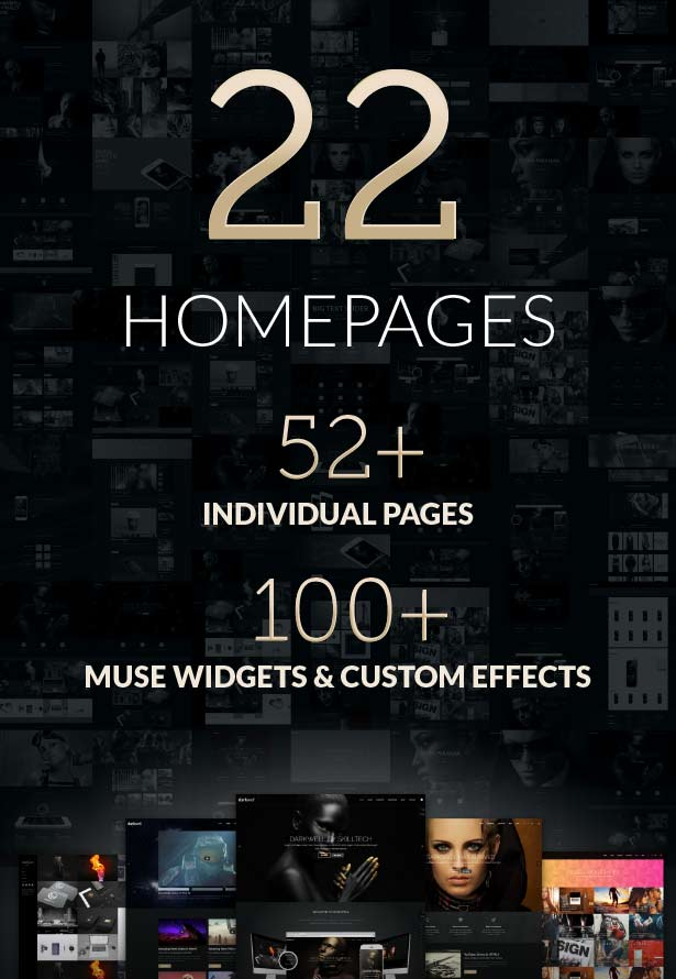 Darkwell Muse Theme - Darkwell Muse Template - Features Section 01