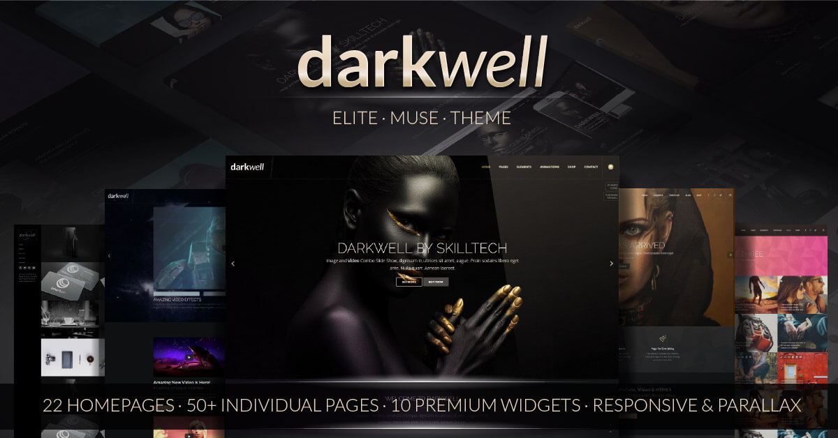 DARKWELL - The Ultimate Multi-Purpose Muse Theme is Here! Check out this  Game-changing Muse Theme Now!