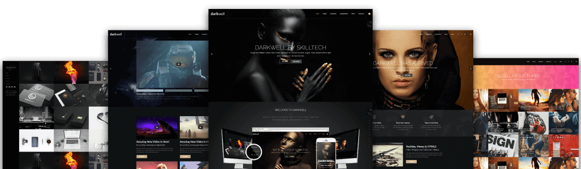 Darkwell Muse Theme - Darkwell Muse Template - Hero Image