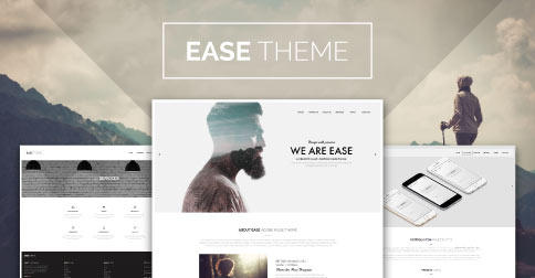 Ease Theme Adobe Muse Template - Product Image