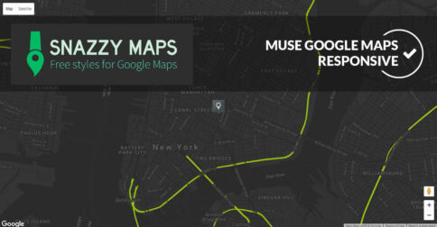 Snazzy Maps Muse Widget - Featured Image