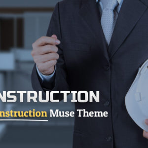 ReConstruction Muse Template Share Image