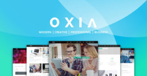 Oxia Adobe Muse Theme - Share Image