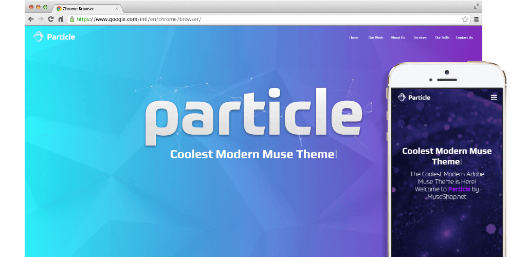 Particle | Perfect Muse Theme for Startup, Technology & Innovation