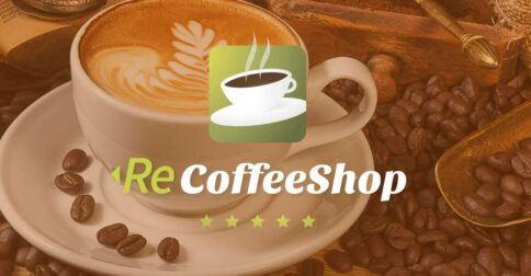 ReCoffeeShop Adobe Muse Theme - Product Image Large