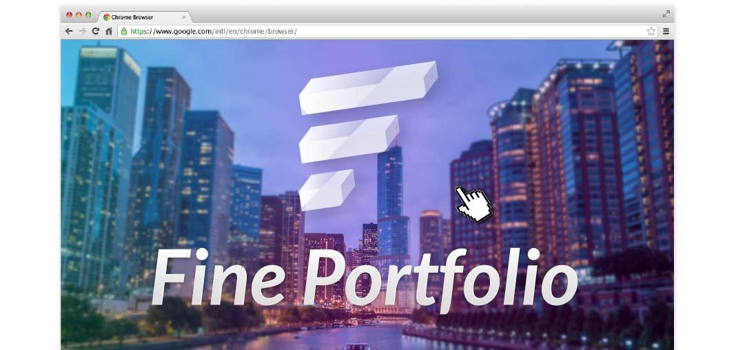 Fine Portfolio Thumbnails Adobe Muse Widget - Hero Image