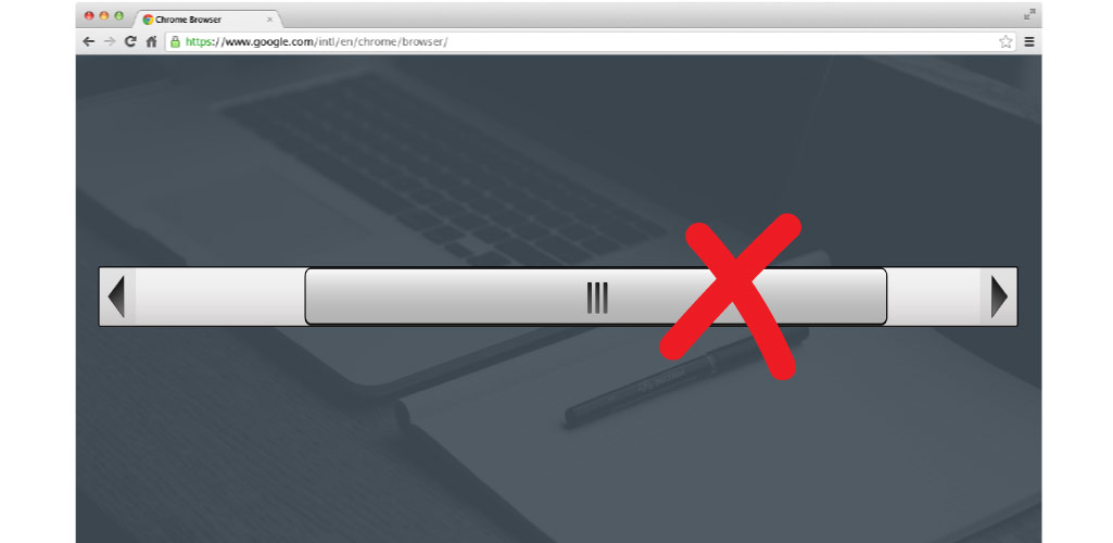 Remove Horizontal Scrollbar Adobe Muse Widget Hero Image