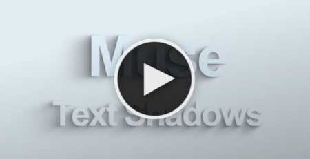 Video Tutorial - Animated Text Shadows for Adobe Muse by MuseShop.net