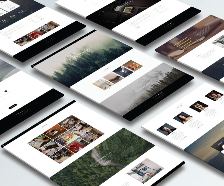 The Spirit - Creative Multipurpose Adobe Muse Template by MuseShop.net - Features Image 1