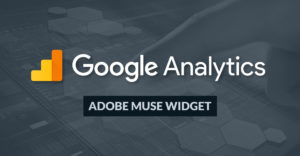 Google Analytics Muse Widget Light - Product Image