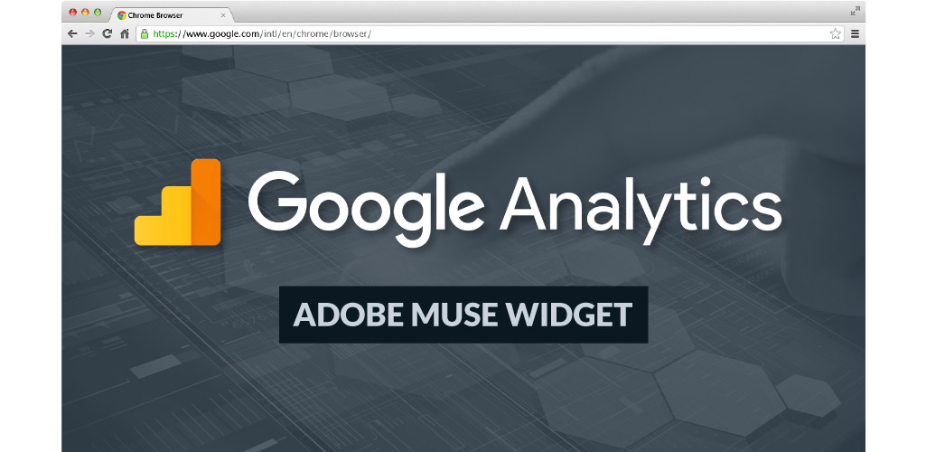 Google Analytics Muse Widget Light - Hero Image