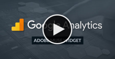 Video Tutorial - Google Analytics Adobe Muse Widgets - MuseShop.net