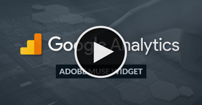 Video Tutorial - Add Google Analytics to Adobe Muse