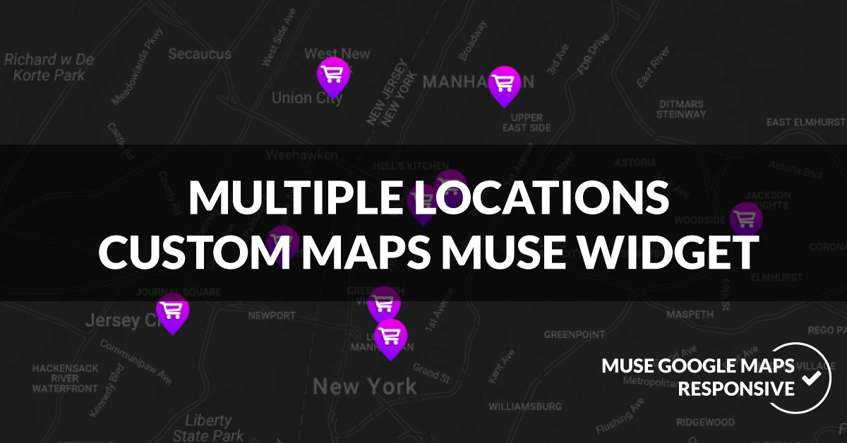 Snazzy Maps Ultimate Adobe Muse Widget   MuseShop.net on